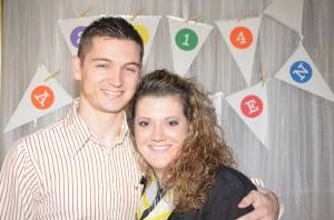 My Hubby and I at the Awaken Photo Booth